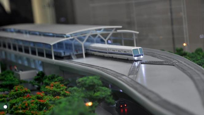 Pencanangan Persiapan Pembangunan MRT