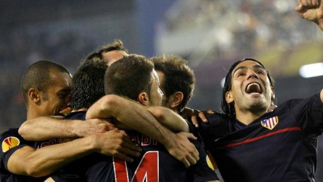 Pemain Atletico Madrid