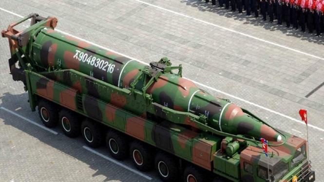 Rudal Korea Utara.