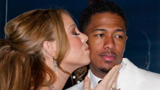 Mariah Carey saat menikah dengan Nick Cannon