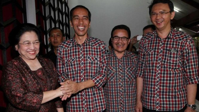 Jokowi-Ahok bertemu Megawati