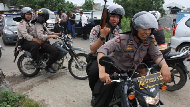 Polisi gerebek Kampung Ambon