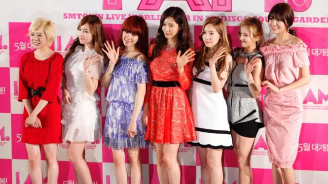 Girls Generation saat promosi film I AM