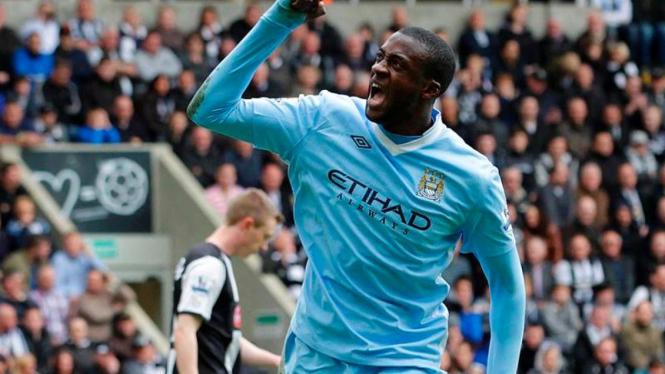 Gelandang Manchester City, Yaya Toure