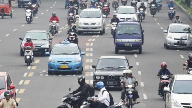 Rendahnya Kesadaran Keselamatan Pengendara Sepeda Motor