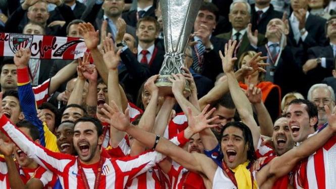 Atletico Madrid juara Liga Europa