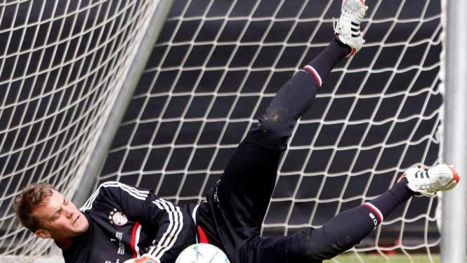 Kiper Bayern Munich, Manuel Neuer, jelang final Liga Champions