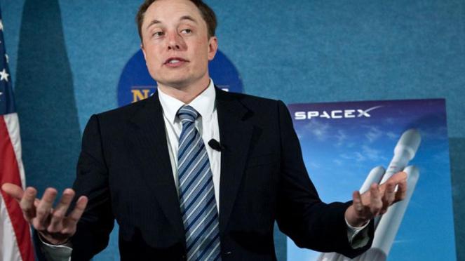 Chairman Tesla, Elon Musk.