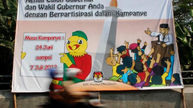 Kenali Cagub-Cawagub DKI Jakarta
