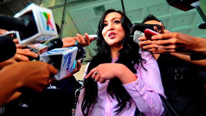 Angelina Sondakh diperiksa KPK sebagai tersangka