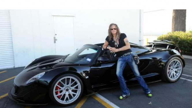 Hennessey Venom GT Spyder milik Steven Tyler