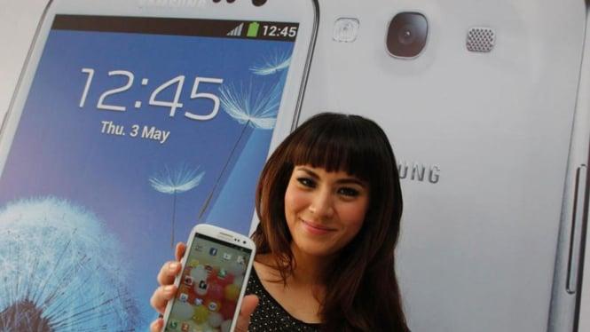 Penjualan Perdana Samsung Galaxy S III di Jakarta