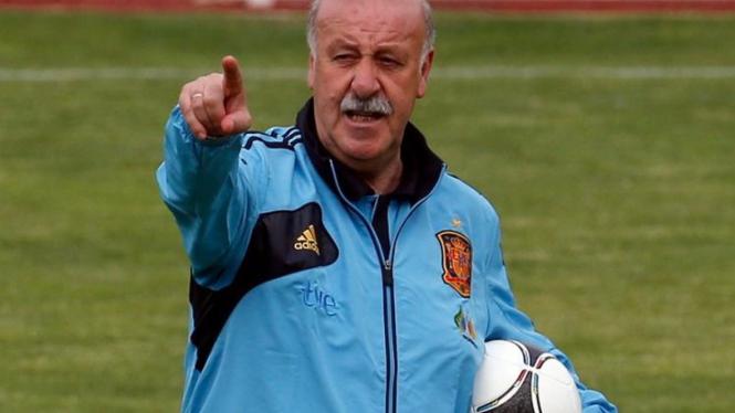 Pelatih tim nasional Spanyol, Vicente Del Bosque