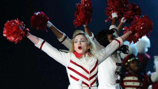Konser Madonna di Abu Dhabi