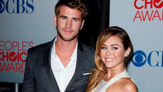 Liam Hemsworth dan Miley Cyrus dikabarkan menikah