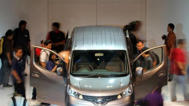 Nissan Resmi Luncurkan Evalia Di Indonesia