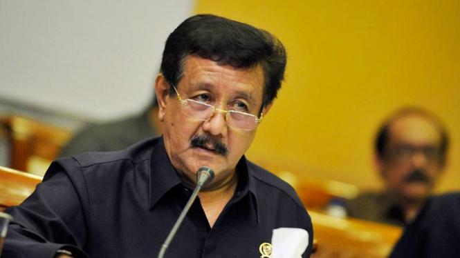Jaksa Agung Basrief Arief Rapat Kerja Dengan DPR