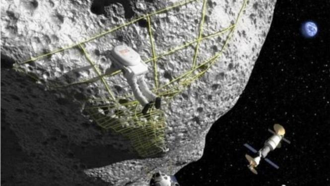 Ilmuwan sedang mencari cara agar astronot bisa ke asteroid
