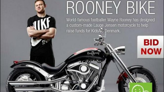 Moge hasil desain Wayne Rooney