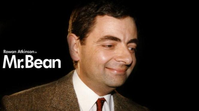 Rowan Atkinson pemeran Mr Bean