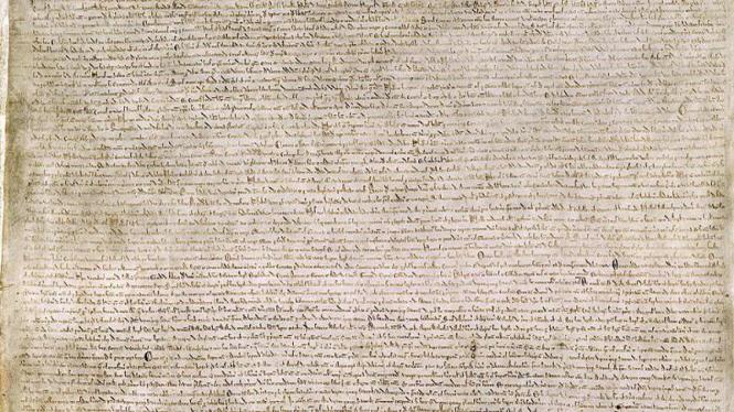 Naskah kuno Perjanjian Magna Carta