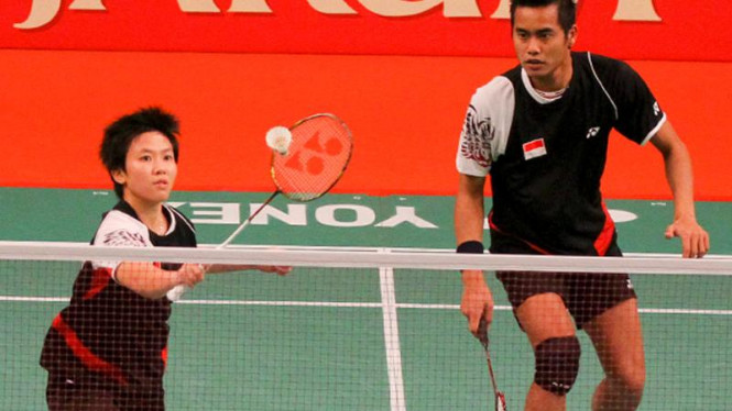 Tantowi Ahmad dan Liliyana Natsir Melaju ke Semifinal