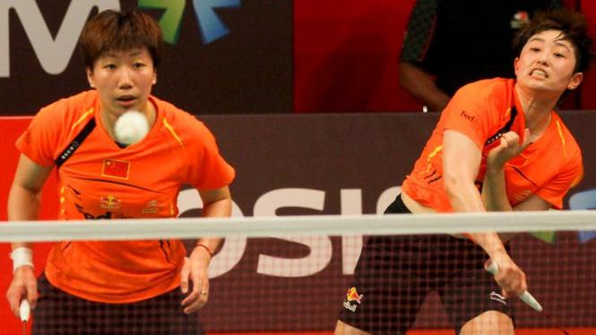 Wang Xiaoli dan Yu Yang Juara Djarum Indonesia Open 2012