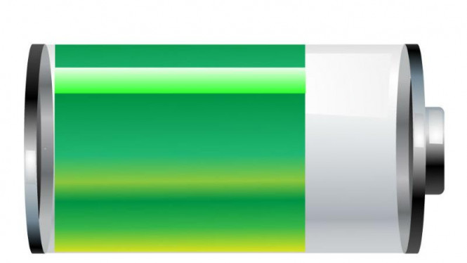 Ilustrasi baterai