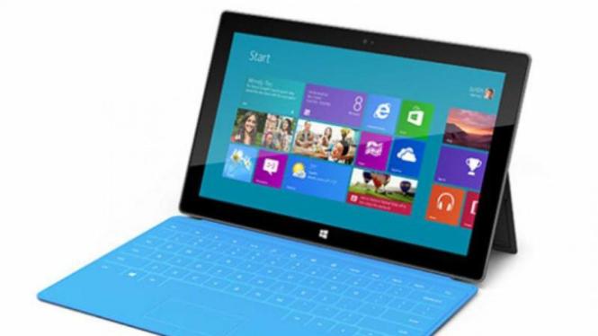 Tablet Surface buatan Microsoft