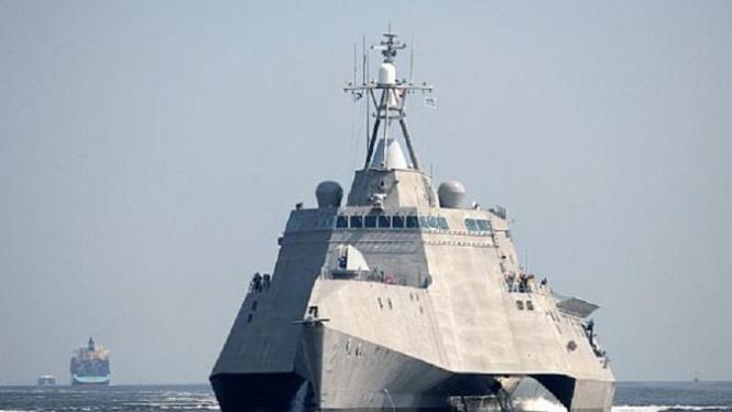 DDG 1000 kapal siluman perusak.