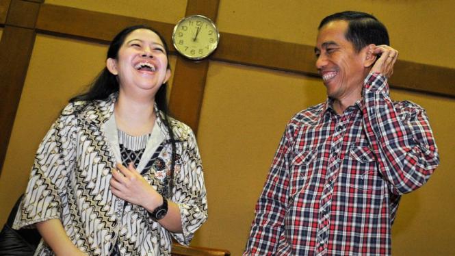Puan Maharani dan Jokowi