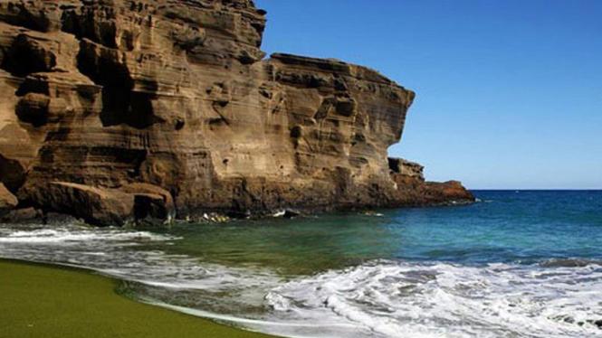Pantai Papakolea Hawaii