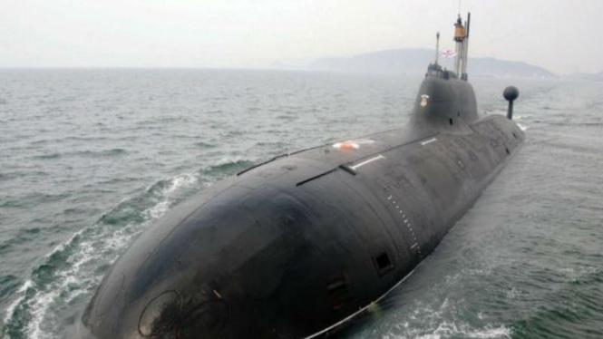 Kapal selam INS Chakra buatan Rusia