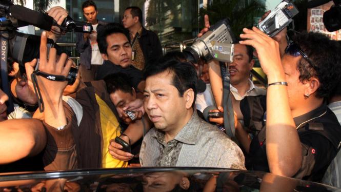 Ketua Dewan Perwakilan Rakyat Setya Novanto.