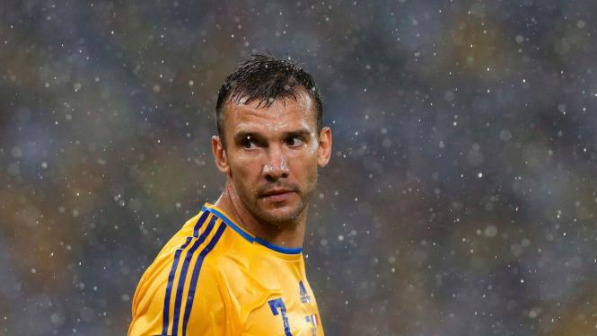 Pesepakbola legendaris Ukraina, Andriy Shevchenko