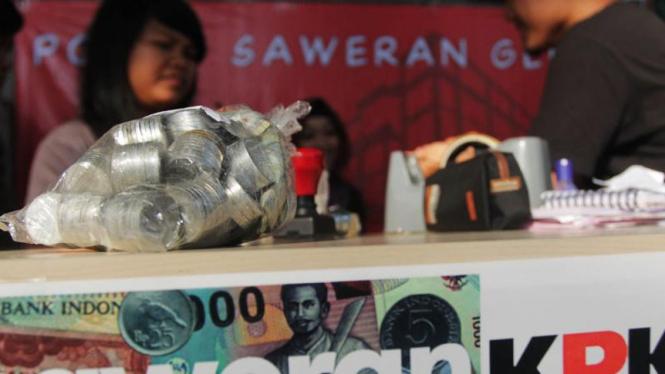 Saweran Gedung KPK