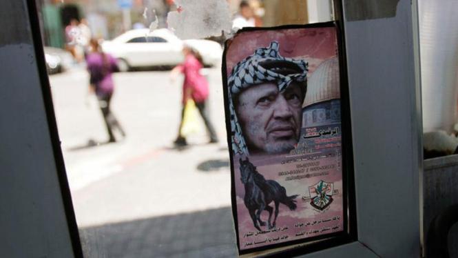 Pemimpin Palestina Yasser Arafat