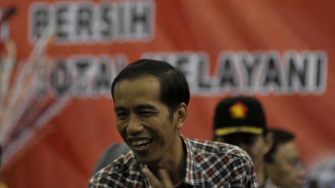 Jokowi di Gor Ciracas