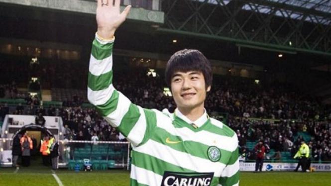 Pemain Celtic asal Korea Selatan, Ki Sung-Yueng.