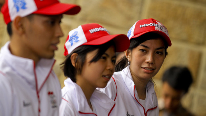 Para Atlet Indonesia Yang Berlaga di Olimpiade London 2012