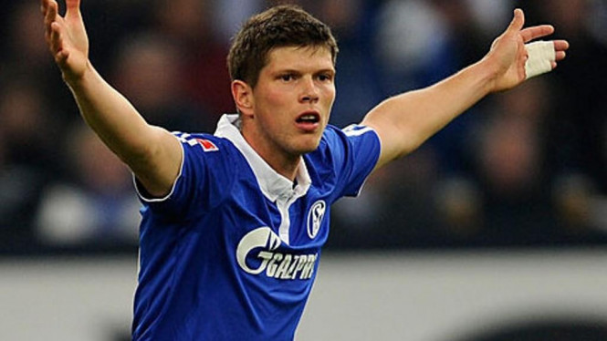 Striker Schalke 04, Klaas-Jan Huntelaar.