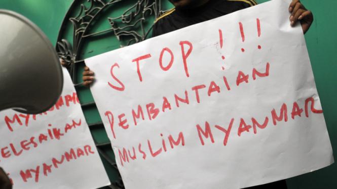 Demo Rohingya