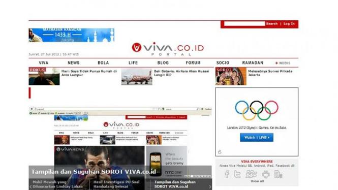 Wajah Baru VIVA.co.id