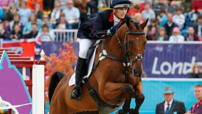 Atlet Equestrian Inggris Raya, Zara Phillips