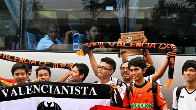 Valencia Tiba di Jakarta