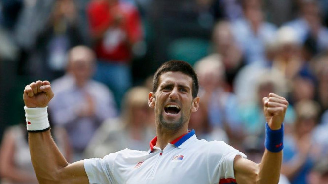 Novak Djokovic usai memastikan langkah ke semifinal Olimpiade