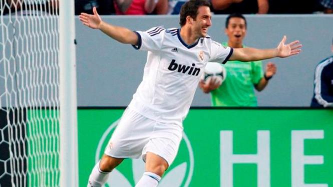 Penyerang Real Madrid, Gonzalo Higuain