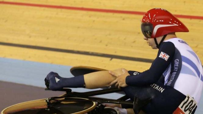 Pembalap sepeda lintasan Inggris Raya, Philip Hindes
