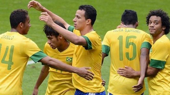 Brasil di Olimpiade 2012