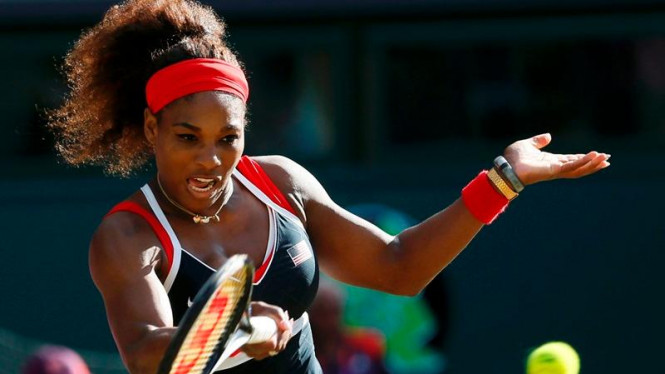 Serena Williams di Olimpiade London 2012